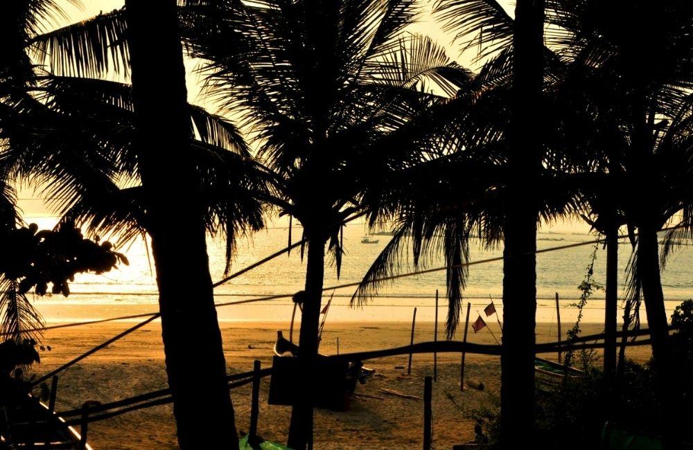 sea view from morya beach resort